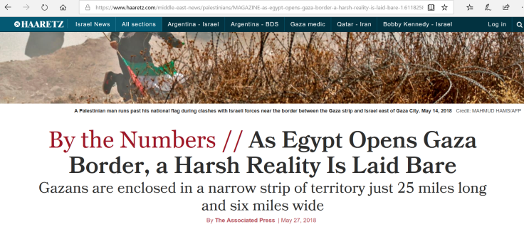 Haaretz Gaza
