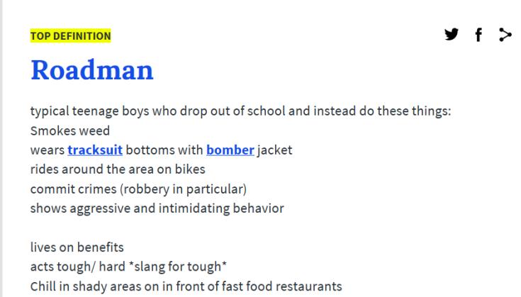 1 roadman